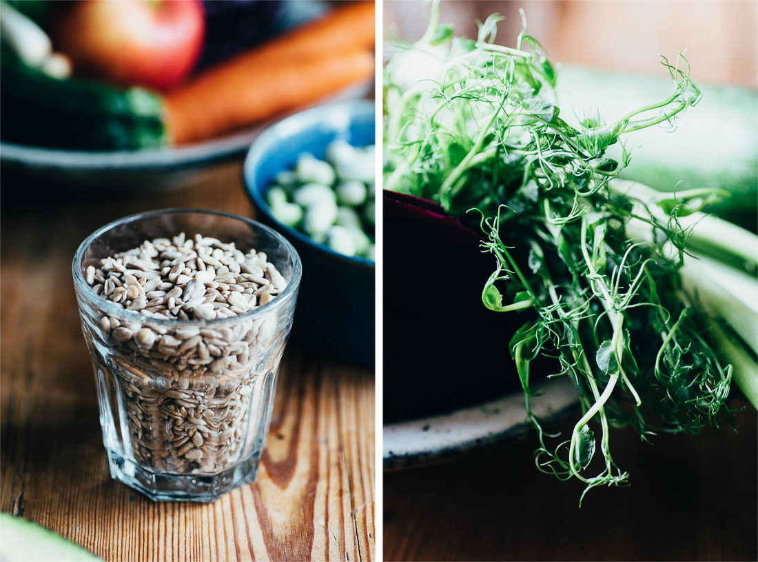 The Super Noodle Salad w. Tahini Dressing